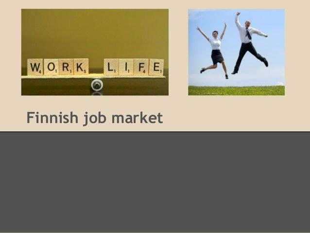 Finnish job market