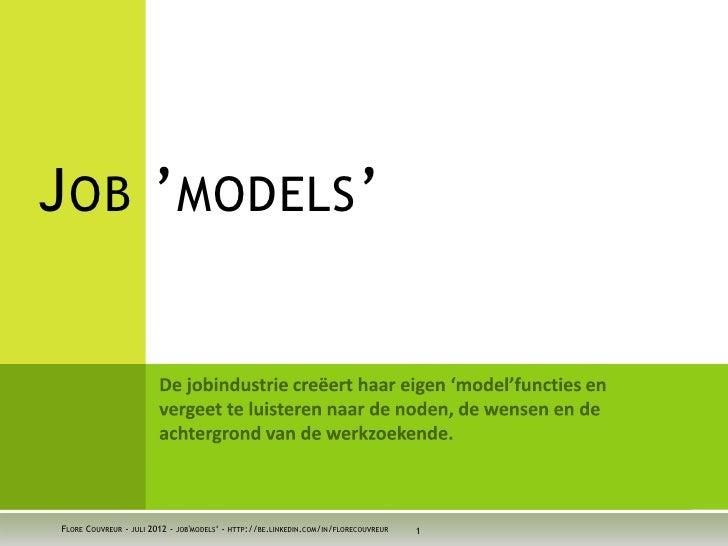 Job'models'
