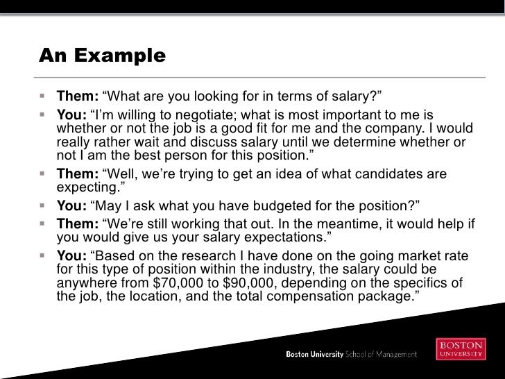 job offer salary negotiation ~ Odlp.co Evaluating and Negotiating a Job Offer... salary; 8.