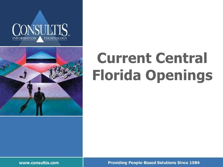 Current Central Florida Openings