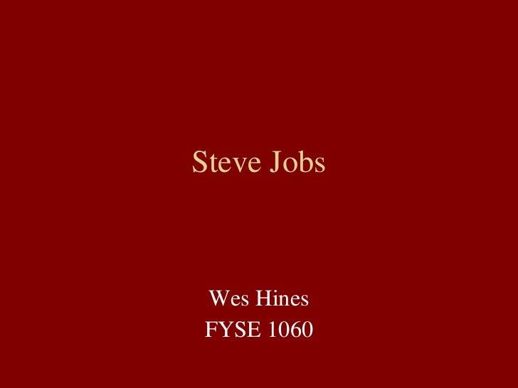 steav Jobs