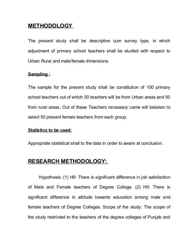 Dissertation Job Jss Research Satisfaction Survey Using