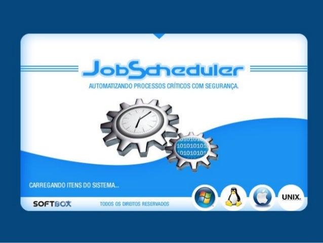 JobScheduler - Automação de Tarefas