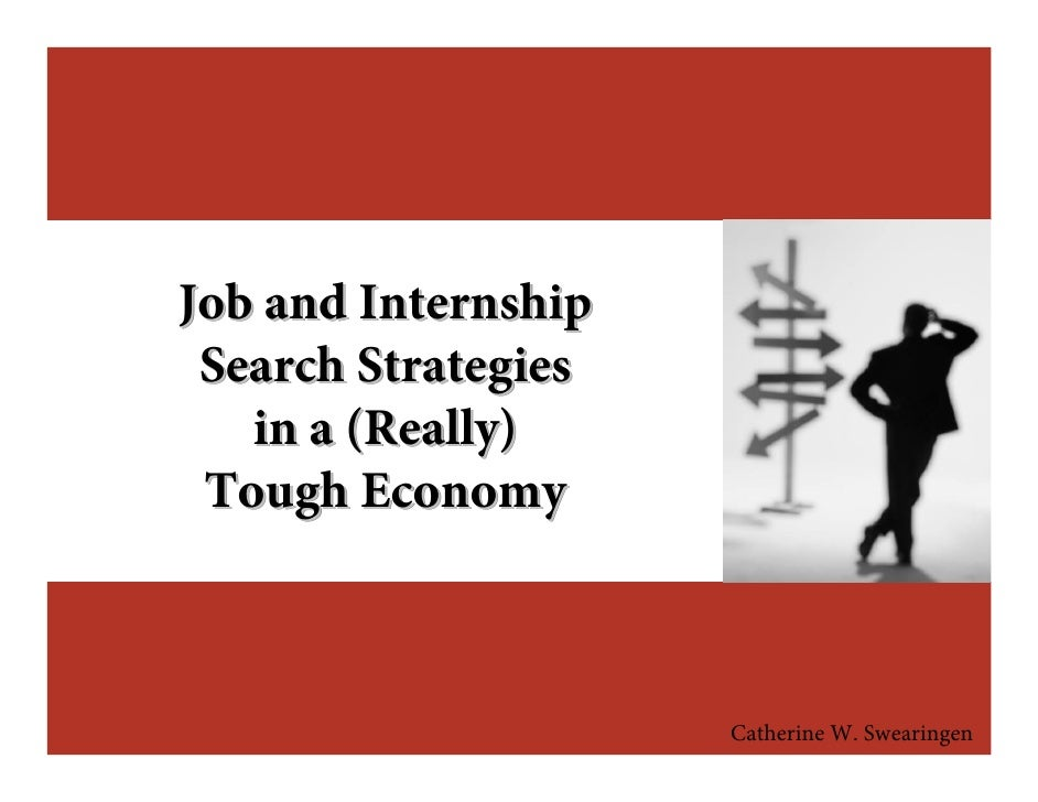 Job Search Strategies and Personal Branding