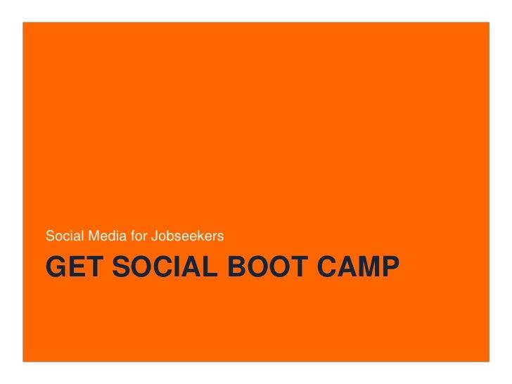 Jobseeker Bootcamp