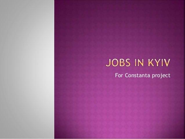 Jobs in kyiv