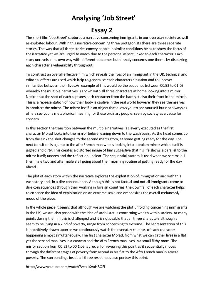 Personal narrative essay about parenting