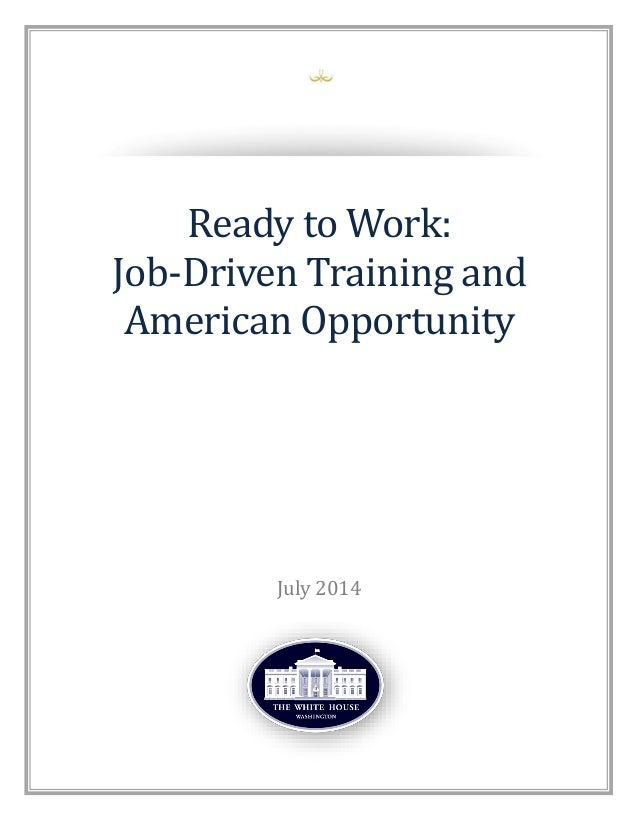 Companies Commit to Job Training in White House Initiative
