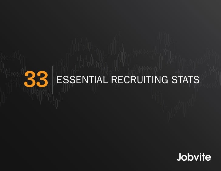 33 Essential Social Recruiting Stats - 2011
