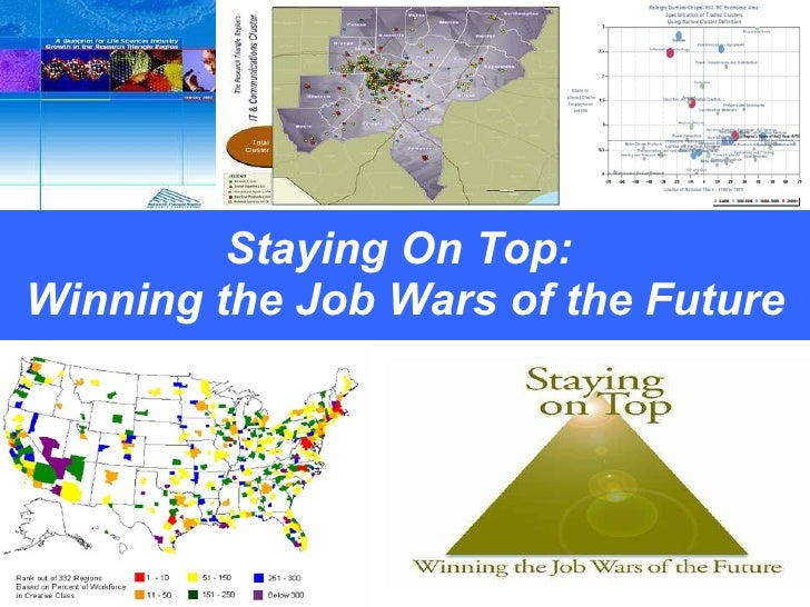 Staying On Top:  Winning the Job Wars of the Future