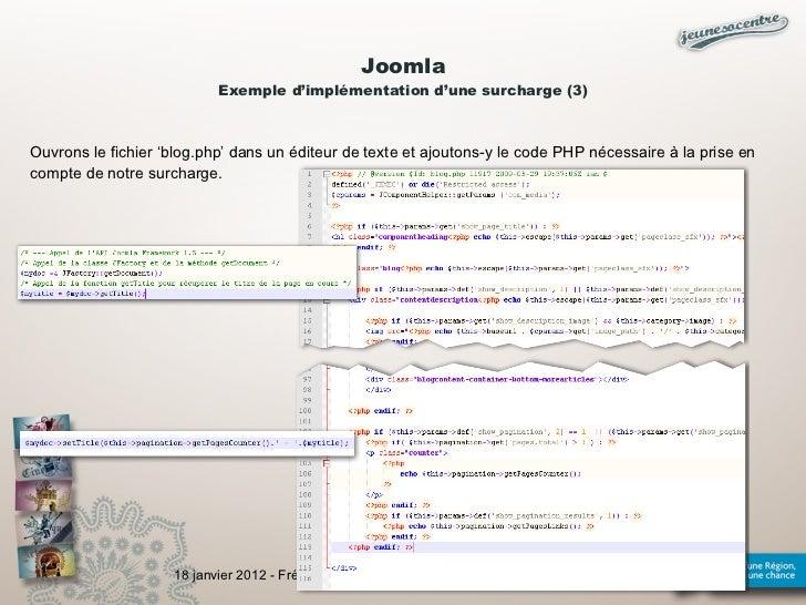 Joomla Exemple Joomla Exemple