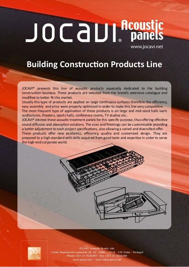 Jocavi construction materials 2013
