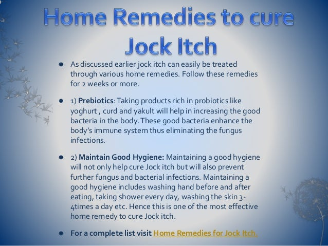 how to get rid of jock itch rash
