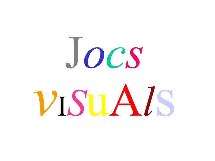 Jocs Visuals