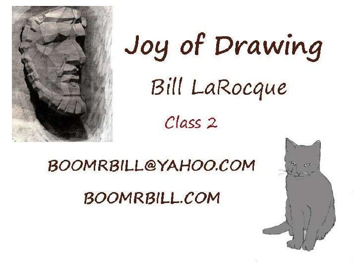 Bill's Drawing Class 2