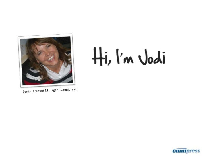 What I Do * Jodi Ray / Omnipress in 60 seconds