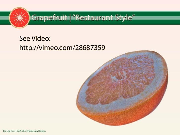 Joe jancsics grapefruitflow