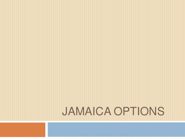 Joel Jamaica Options