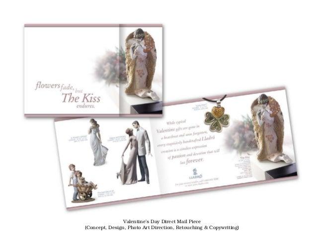 Valentine's Day Direct Mail Piece(Concept, Design, Photo Art Direction, Retouching & Copywriting)