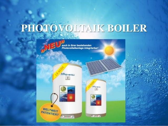 Photovoltaik Boiler