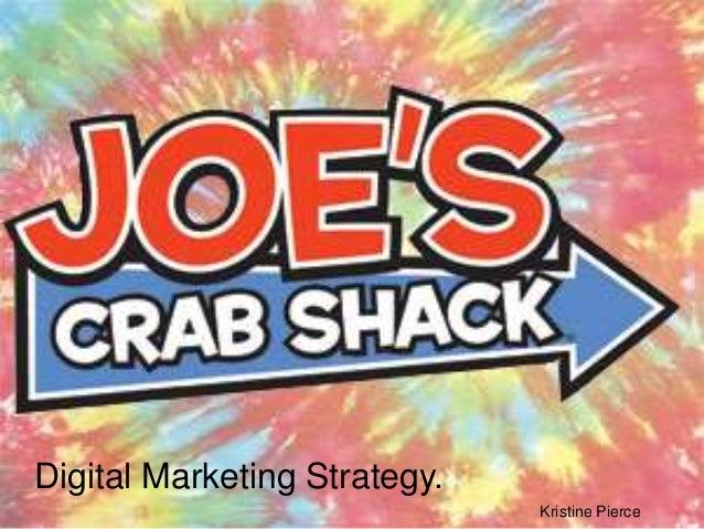 Digital Marketing Strategy.                              Kristine Pierce