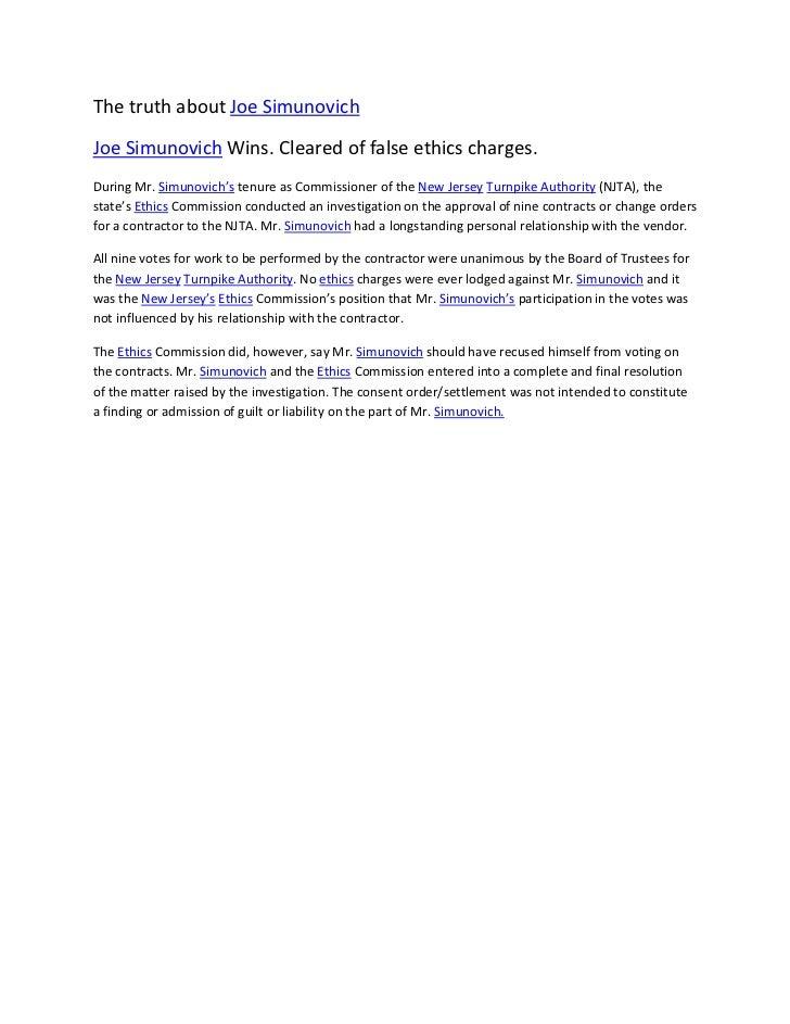 Joe simunovich falsely accused wins case