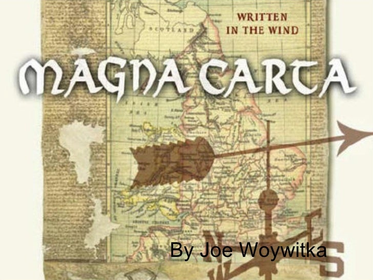 Joe woywitka.magnacarta
