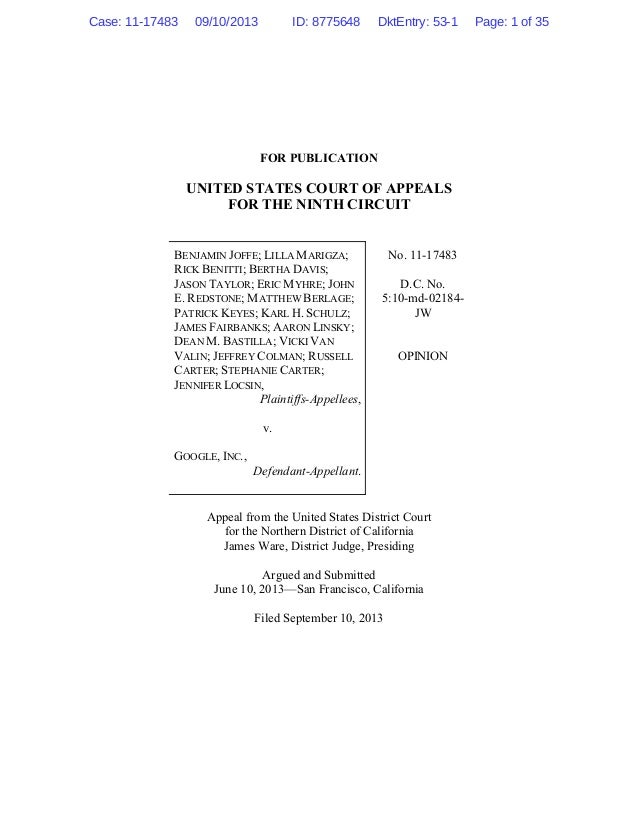 FOR PUBLICATION UNITED STATES COURT OF APPEALS FOR THE NINTH CIRCUIT BENJAMIN JOFFE; LILLA MARIGZA; RICK BENITTI; BERTHA D...