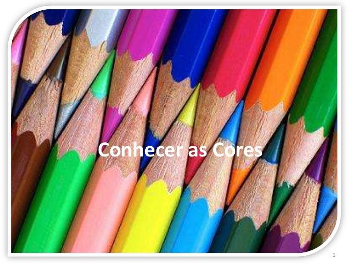 Jogo - conhecer as cores