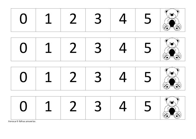 0 1 2 3 4 5 0 1 2 3 4 5 0 1 2 3 4 5 0 1 2 3 4 5 Xerocar 9 folhas amarelas