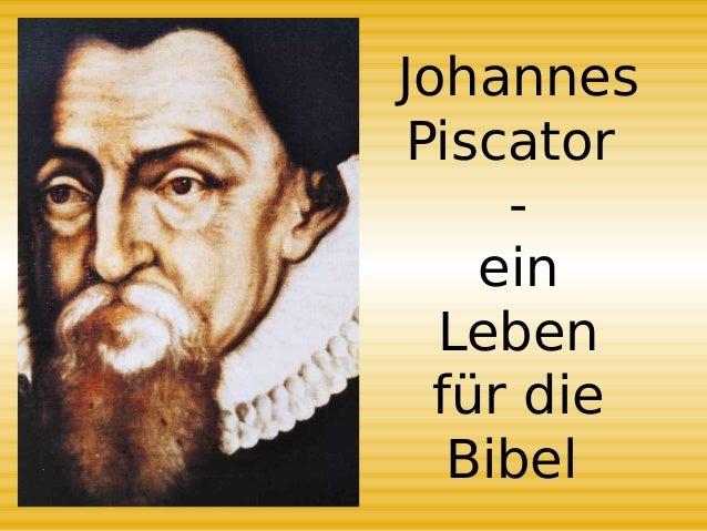 Johannes Piscator Bibel (PDF)