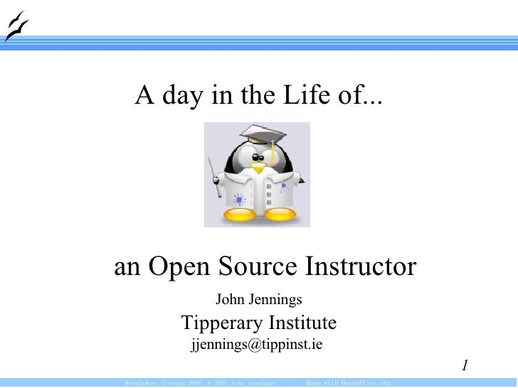 <ul><ul><li>John Jennings </li></ul></ul><ul><ul><li>Tipperary Institute </li></ul></ul><ul><ul><li>jjennings@tippinst.ie ...