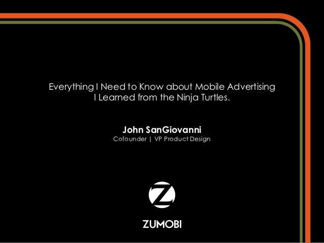 John San Giovanni - Mobile Advertising - SIC2012