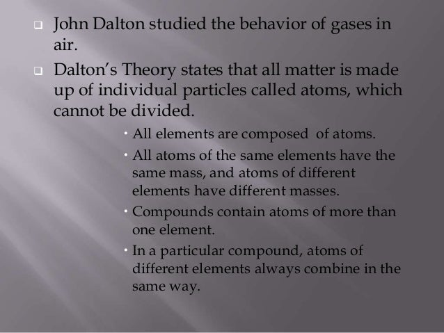 experimental essays on the constitution of mixed gases Contribution of john dalton in atom  experimental essays on the constitution of mixed gases  on the pressure of steam and other vapours at different temperatures , both in a vacuum and in.