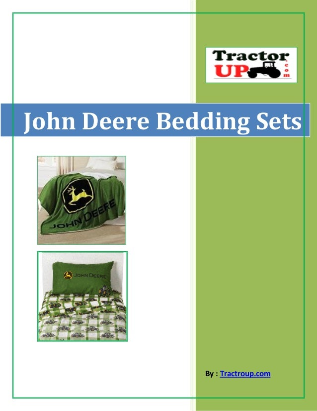 john deere bedding sets for kids and adults