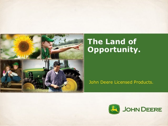 financial report on john deer Financial analysis 51 stock  the other industries that john deere participates in include miscellaneous business credit  1998 annual report.