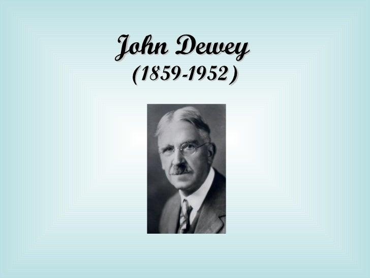john dewey Early life born on october 20, 1859, in burlington, vermont, john dewey was the third of archibald dewey and lucina artemisia rich's four children.
