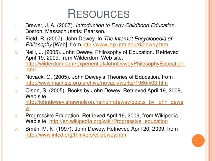 philosophy of education in early childhood I think that if you try to notice more learning that's happening naturally, you'll begin to develop a philosophy about learning and children all children - really all humans, but older kids and adults are not given much opportunity - learn best w.
