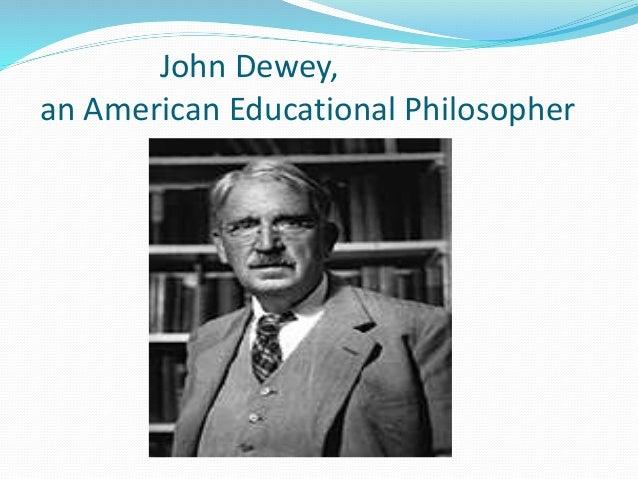 educational essay dewey