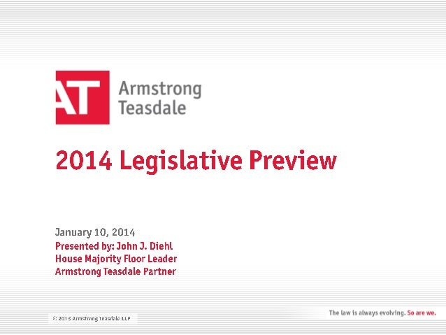 2014 Missouri Legislative Preview -Kansas City