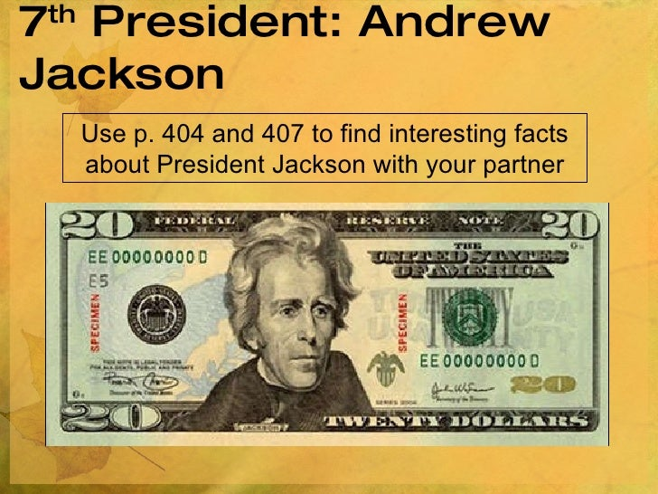 Andrew Jackson Facts
