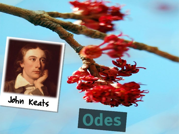 John Keats             Odes