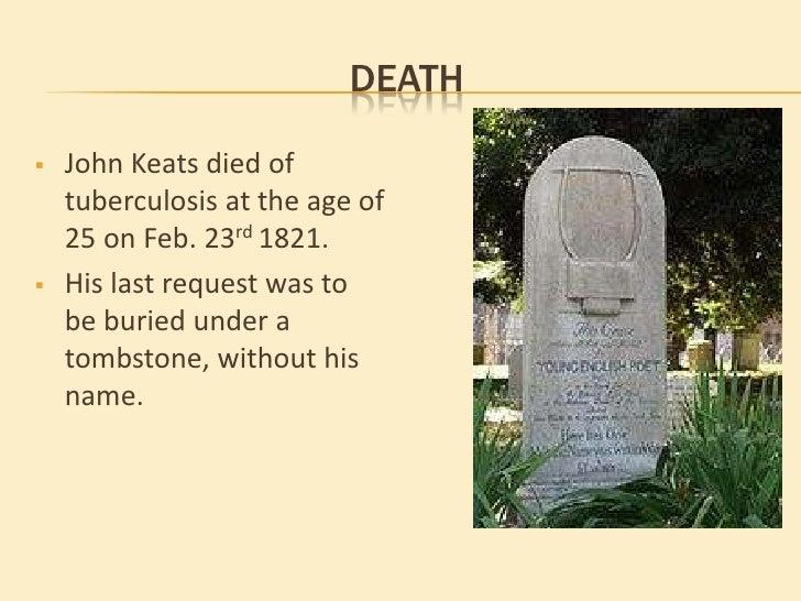 John Keats nature poems