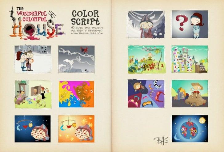 The Wonderful Colorful House (my iPad app spec doc)