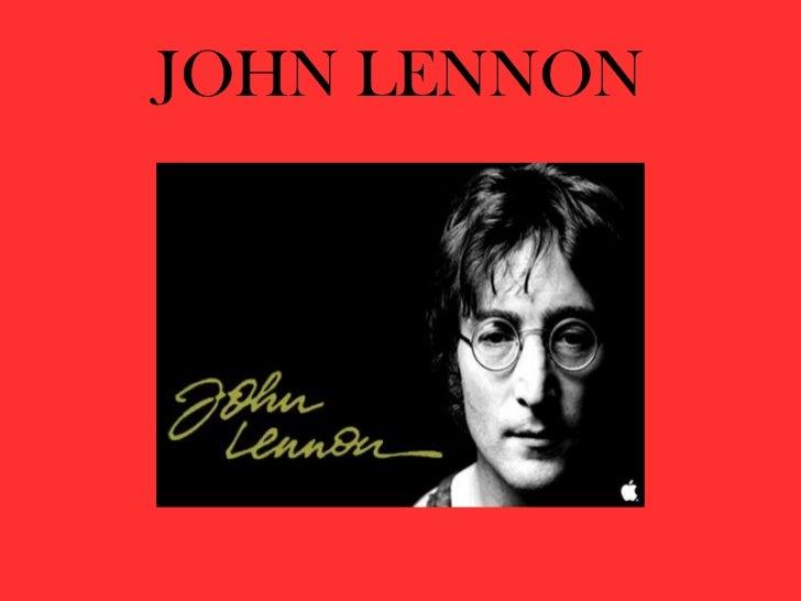 JOHN LENNON<br />