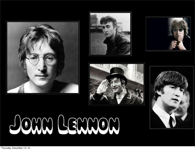 John LennonThursday, December 13, 12