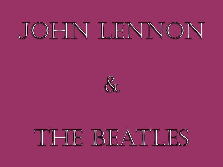 John lennon cs