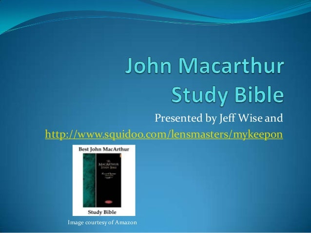 [PDF] The Macarthur Topical Bible Download eBook for Free