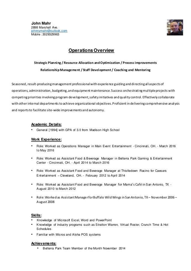 mahr professional resume ud 62616