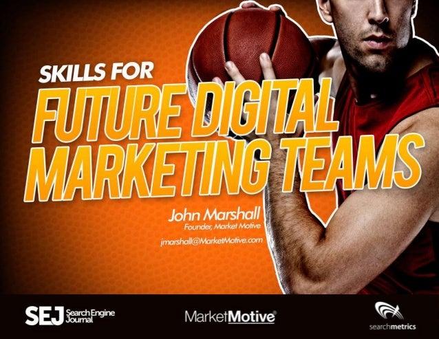"John Marshall of Market Motive: ""How To Build and Nurture a Rockstar Marketing Team"""